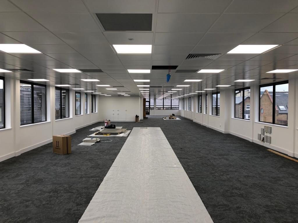 Office Rebuild In Maidenhead