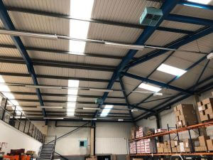 HVAC Service and Installation - Optex UK - Ceiling Area