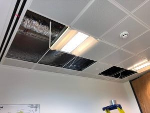 Suspended Ceiling Sound Proofing Installation